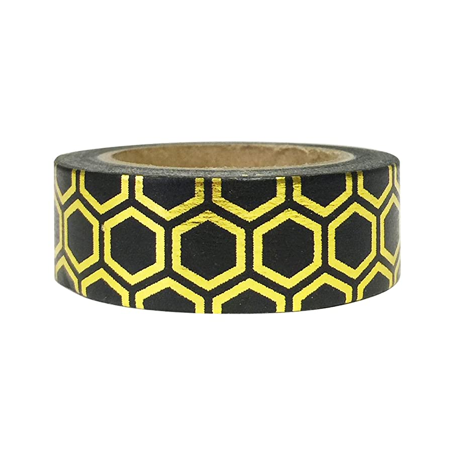 AllyDrew Washi Tapes Decorative Masking Tapes, Beehive