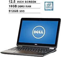 2019 Premium Dell Latitude E7240 Ultrabook 12.5 Inch Business Laptop (Intel Dual Core i5-4200U up to 2.6GHz, 16GB DDR3 RAM, 512GB SSD, Intel HD 4400, WiFi, HDMI, Windows 10 Pro) (Renewed)