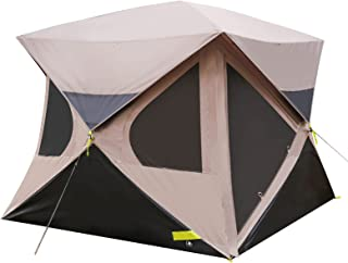 Pop up Tent 4 Person for Camping, 80'' Center Height,...