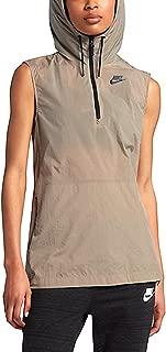 NIKE Womens Tech Hypermesh Full Zip Vest 833464 235 Khaki