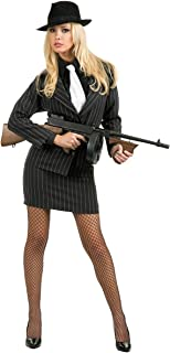 Gangster Moll Adult Costume - Plus Size 1X