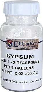 Calcium Sulfate Gypsum 2 oz. for Home Brew