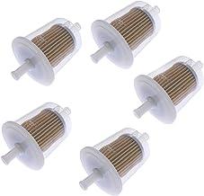 Solarhome 5PCS 12581-43012 Fuel Filter for Kubota BX22D BX23D RTV900 RTV1140 GR2120 G2460 ZD18 D1005 D1105 D1305