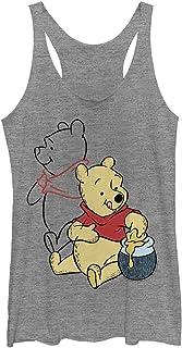Disney womens Pooh Line art T-Shirt