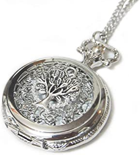 Best silver watch necklace Reviews