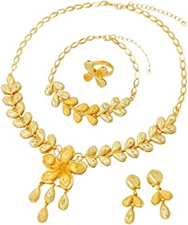 Best gold ring and necklace set Reviews