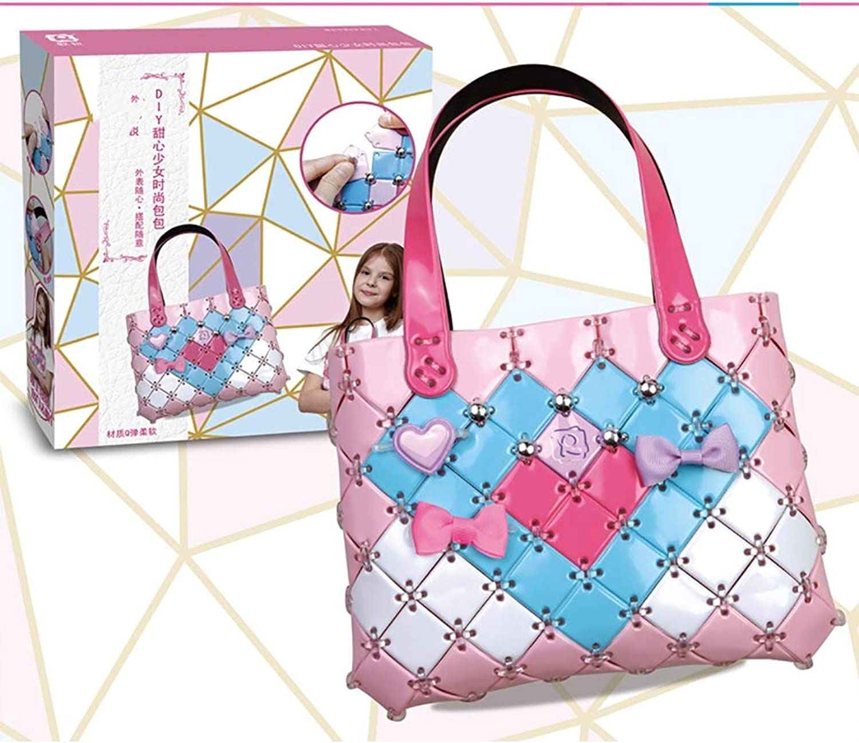 DIY Fashion Bag for Kids Handmade Handbags Make Your Own Fashion Purse Kit for Birthday Gifts & Party