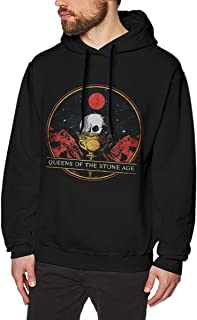 Queens of The Stone Age Hoodie Men's Casual Sweatshirt Fashion Hooded Pullover