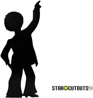 Star Cutouts SC83 Disco Dancer - Male (Silhouette) Cardboard Cutout Standup