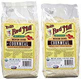 Bob's Red Mill Organic Cornmeal Medium, 24 oz, 2 pk