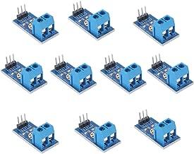 Voltage Tester Sensor Measurement Detection Module DC 0-25V Terminal Sensor Module for Arduino UNO Mega Robot Smart Car Geekstory (Pack of 10)