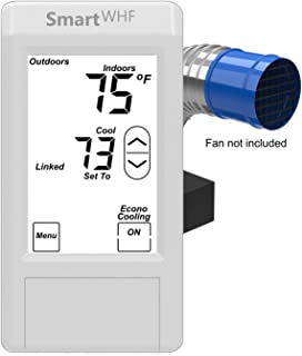 Whole House Fan Wireless Remote Control. Timer or Temperature Control. 1, 2 or 3-Speed PSC or ECM Fans. Model RTK.