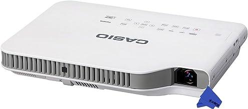Casio XJ-A142 Ultra-Slim LED XGA Laser Projector + Psc Lens Cloth (2, 500 Lumens)