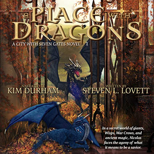 A Place with Dragons audiobook cover art