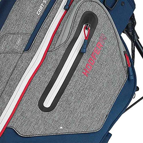 Product Image 4: PING New Hoofer 14 Way Stand Golf Bag [Heather Grey/Navy/Scarlet]