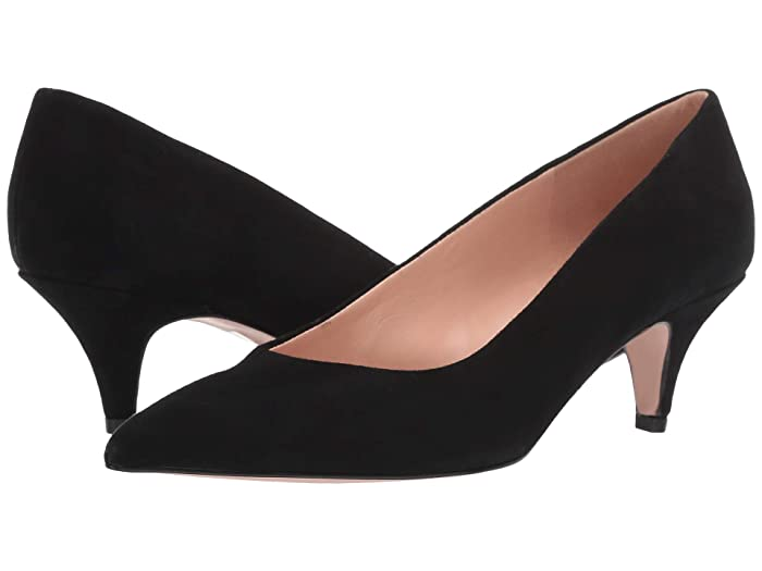 1950s Style Shoes | Heels, Flats, Saddle Shoes J.Crew 55 mm Dulci Pump Black Womens Shoes $139.99 AT vintagedancer.com