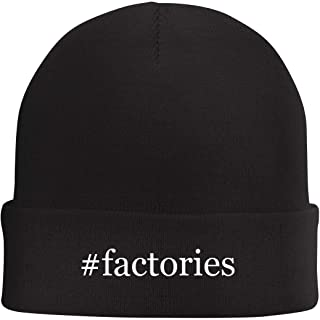 Tracy Gifts #Factories - Hashtag Beanie Skull Cap with Fleece Liner