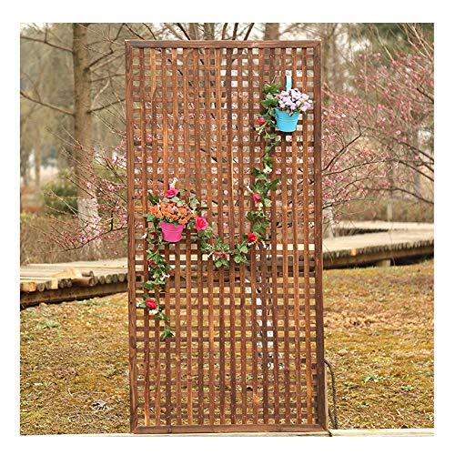 WXQ Gartenzaun Dekorative im Freien hölzerne Gitter Flower Stand Picket Fechten, 6 Größen (Size : 30X120CM)