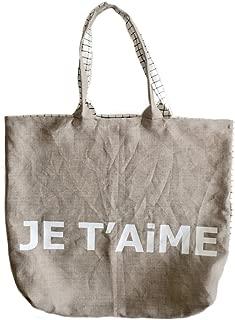 BAG - LiNEN BAG - JE T'AiME CHECKERED