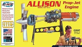 Allison Prop Jet Aircraft Engine STEM Plastic Model Kit 1/10 Atlantis Toy and Hobby