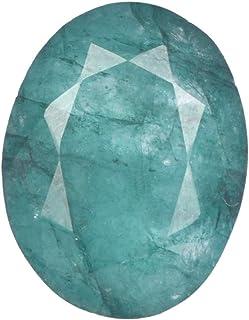 Real Gems Esmeralda Natural 7.00 CT de Piedras Preciosas Sueltas, Hermosa Piedra Esmeralda, Piedras Preciosas Sueltas de T...