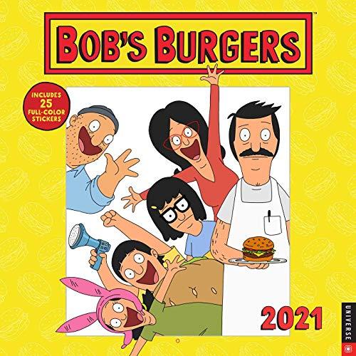 Bob's Burgers 2021 Wall Calendar