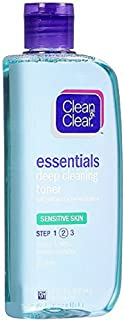 CLEAN & CLEAR Deep Cleaning Astringent Sensitive Skin 8 Oz
