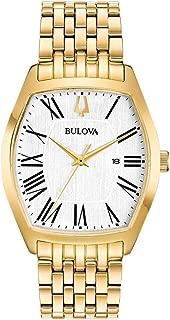 Bulova Women's Quartz Watch Metal Bracelet analog Display and Stainless Steel Strap, 97M116