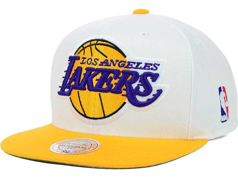 Los Angeles Lakers Big Logo Purple/Yellow Snapback