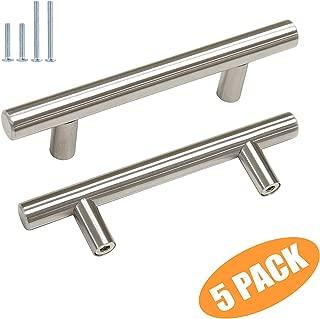 Probrico T Bar Cabinet Pulls Stainless Steel Kitchen Handles Bathroom Cupboard Knobs 3