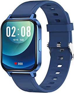 Smart Watch Fitness Tracker 1.69 Touch con pulsómetro impermeable IP68 Sport Smartwatch para hombres mujeres para Android IOS