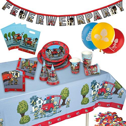 Tib Heyne 10118773 Partykoffer Feuerwehr, One Size