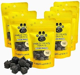 PABLO パブロ 国産 キューブトリーツ 竹炭 無添加 小麦粉不使用 犬用 おやつ セット (30g×6袋)