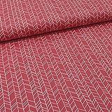 Schickliesel Baumwollstoff Meterware Rauten (pink)