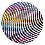 Clemens Habicht 1000-Piece Abstract Round Jigsaw Puzzle - Artist Edition by Kate Banazi