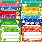 "40PCS Student of Award Certificates Recognition Achievement with Stickers 8.5"" X 11"" Graduation Classroom Supplies"
