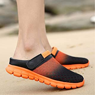 Summer Sandals Mesh Cloth Breathable Thickening Beach Slippers