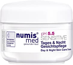 Face Cream For Dry & Sensitive Skin Imported from Germany Dermatologist Tested 5 Star Guarantee Low pH 5.5 Paraben Free Vegan Moisturizes And Protects Dry Irritated Skin 50 ml by Numis Med