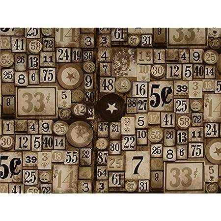 Free Spirit Corresondence Eclectic Elements Fat Quarter Bundle by Tim Holtz 17 Fat Quarters