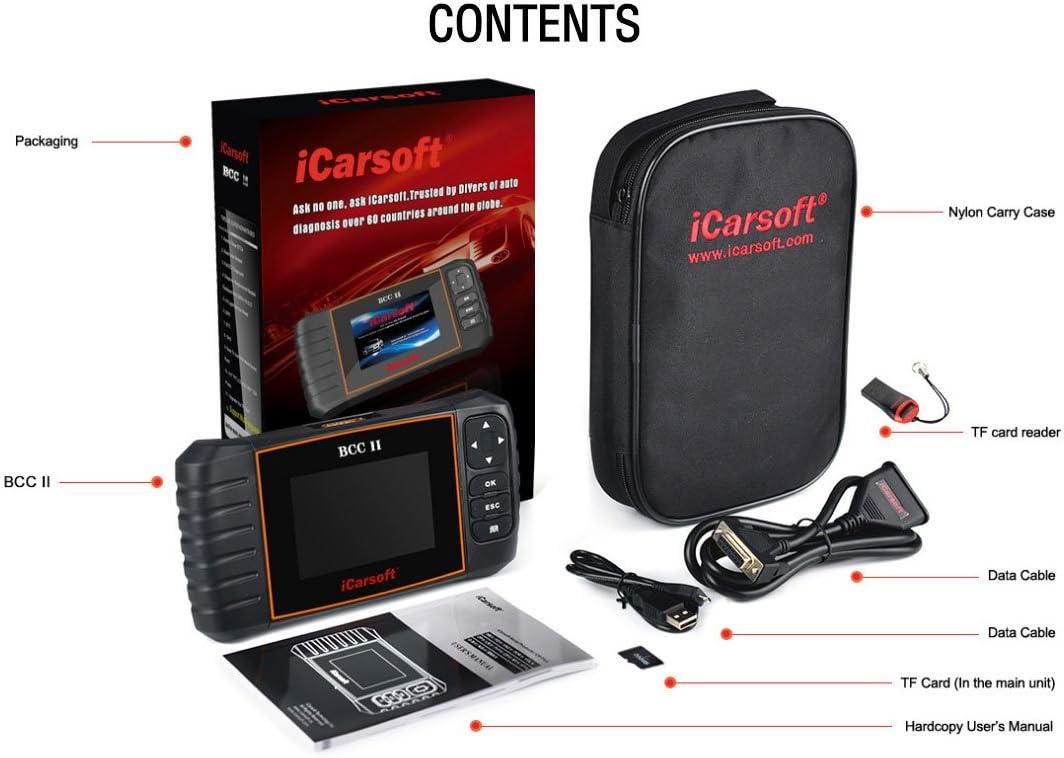 toimitilaa.fi Auto & Motorrad: Teile Werkzeuge iCarsoft BCC II ...