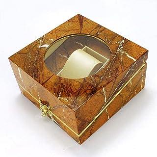 HEMFV Watch Box Metallic Jewelry Watch Box Display Storage Case As Gift