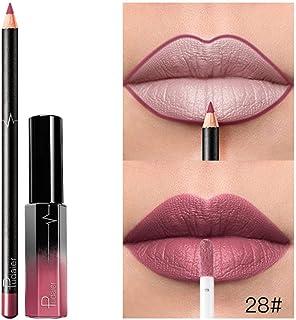 Gaddrt 36 Colors Lipstick with Lip Liner, Long Lasting