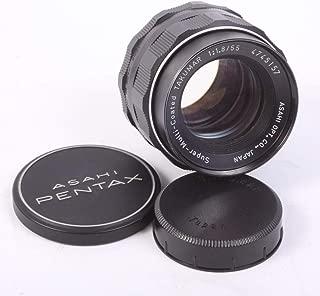 SMC TAKUMAR 55MM F 1.8 for M42 Prime Lens W/Original Front & Rear CAPS for PENTAX