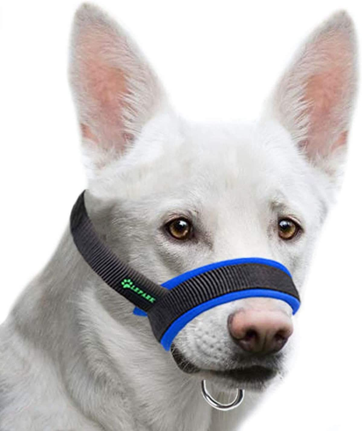 Lepark Dog Muzzle with 2021 model Fabric for Medium Small Large and Max 58% OFF Dogs