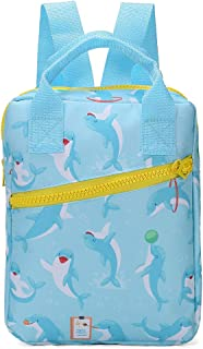 HooyFeel Kids Cute Backpack Lightweight Preschool Toddler Backpack for 3-7 Years Old Boys Girls with Cooler Lunch Snack Bag