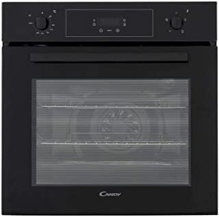 Candy FCP405N Builtin Black Fan Oven with 65 Litre Capacity, A Energy Rating, 2 Shelves and 4 Functions