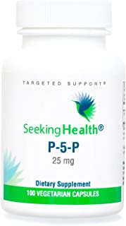 Seeking Health P-5-P, Vitamin B, Pyridoxal-5-Phosphate, Coenzyme B6 Supplement, Support Healthy Cognitive Function, Immune...
