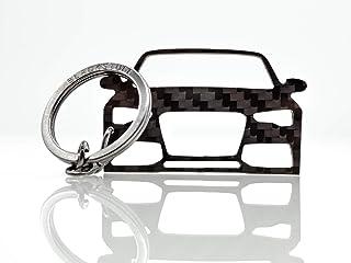 BlackStuff Carbon Karbonfaser Schlüsselanhänger Kompatibel mit A5 S5 RS5 2011 2016 8T BS 140