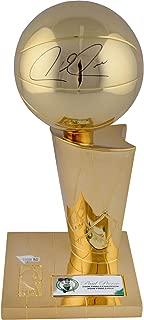 Paul Pierce Boston Celtics Autographed 12'' 2008 NBA Finals Champions Replica Trophy - Fanatics Authentic Certified