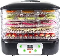 Machine de conservation des aliments, Déshydrateur alimentaire, déshydrateur numérique 5 plateaux Déshydrateur réglable en...